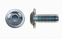ISO 7380FL Linsenkopfschraube mit Flansch